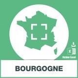 Base SMS sur la région Bourgogne