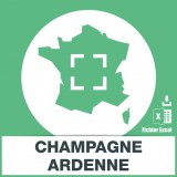 Base SMS sur la région Champagne-Ardenne