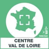 Base SMS sur la région Centre Val de Loire