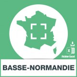 Base SMS sur la région Basse-Normandie