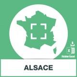 Base SMS sur la région Alsace