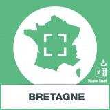 Base SMS sur la région Bretagne