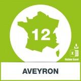 Base SMS département Aveyron 12