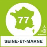 Base SMS département Seine-et-Marne 77