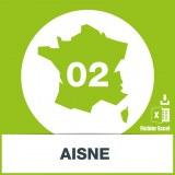 Base SMS département Aisne 02
