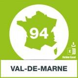 Base SMS département Val-de-Marne 94