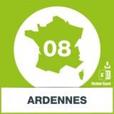 Base SMS département Ardennes 08