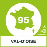 Base SMS département Val-d'Oise 95