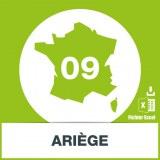 Base SMS département Ariège 09
