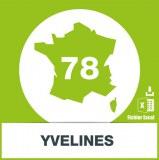 Base SMS département Yvelines 78