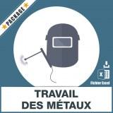 Base SMS constructions mécaniques travail des métaux