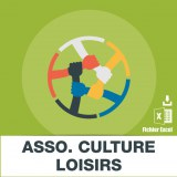 Base SMS associations culturelles