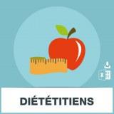 Base SMS des diététiciens