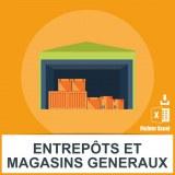 Base SMS entrepôts magasins généraux