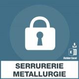 Base SMS serrurerie metallerie