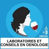 Base SMS laboratoires conseils oenologie