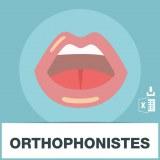 Base SMS orthophonistes