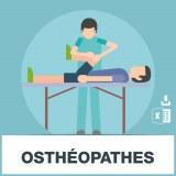 Base SMS des ostéopathes