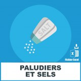 Base SMS paludiers et sels