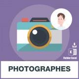 Base SMS des photographes