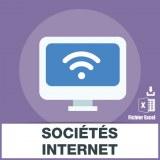 Base SMS sociétés internet