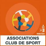 Base SMS clubs sportifs