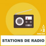 Base SMS stations de radio