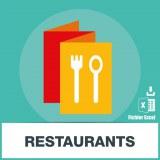 Base SMS restaurants