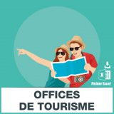 Base SMS offices de tourisme