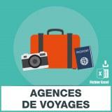 Base SMS agences de voyage