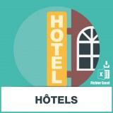 Base SMS hotels