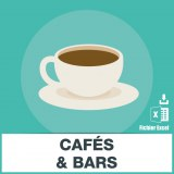 Base SMS cafés et bars